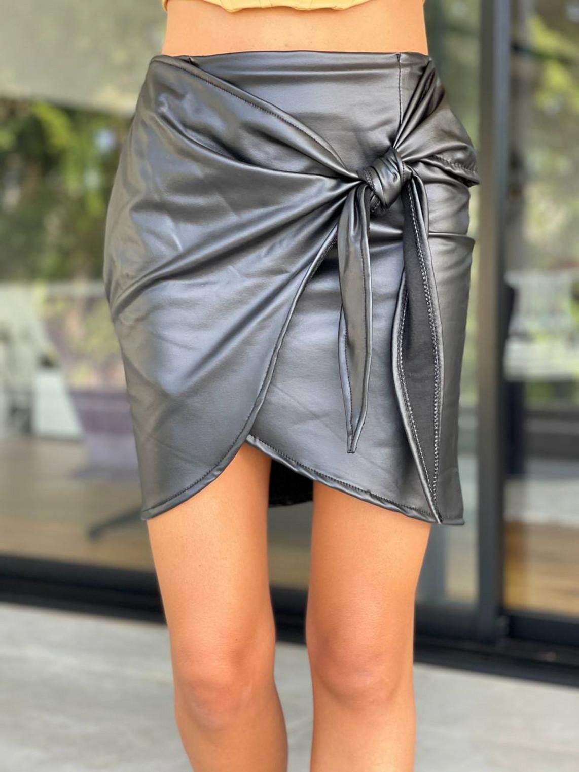 חצאית מיני קשירה