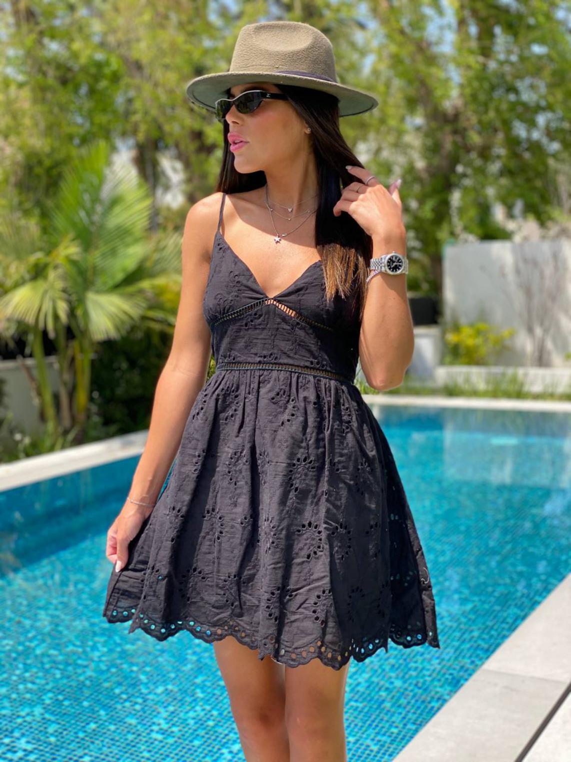 שמלה כתפיות סרט