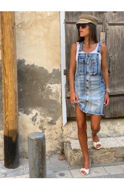 סרפן ג'ינס חצאית