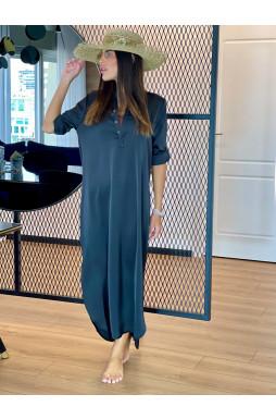 שמלה שינה מיידי כפתורים