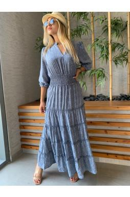 שמלת מקסי רותם