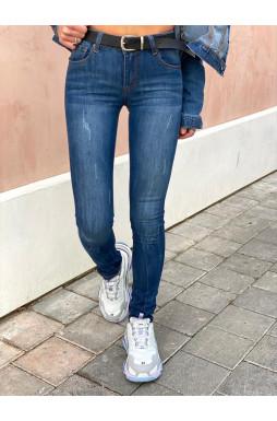 גינס חגורה שחורה