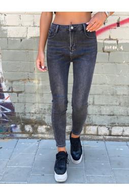 ג'ינס סקיני גזרה גבוה