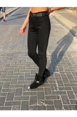 מכנס ג'ינס גבוהה