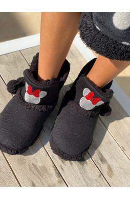 נעלי בית מגפון מיני מאוס