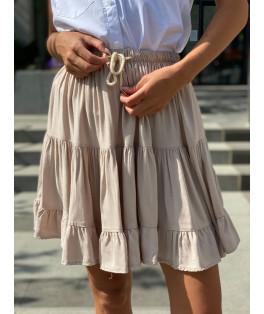 חצאית קצרה פרחוני