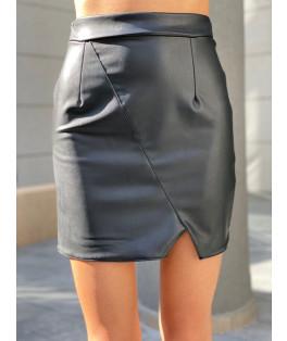 חצאית עור