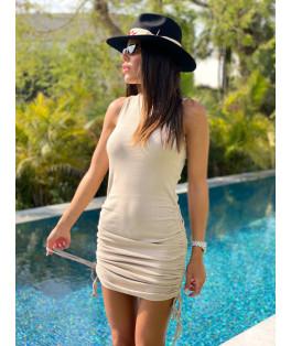 שמלה שרוך כיווץ
