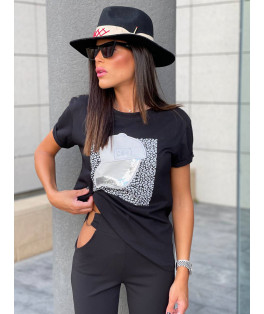 חולצה דפוס כובע