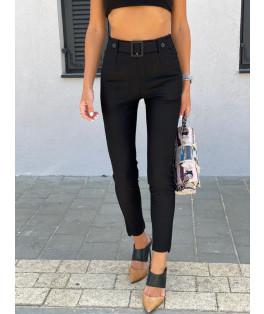 מכנס אלגנט בשילוב חגורה