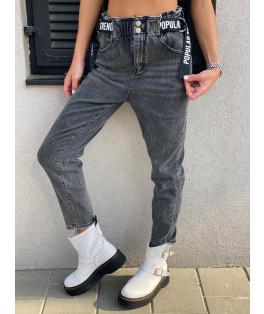 ג'ינס גומי חגורה