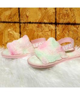 נעלי בית צבעוניים