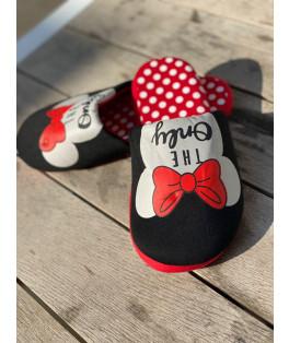 נעלי בית מיני נקודות