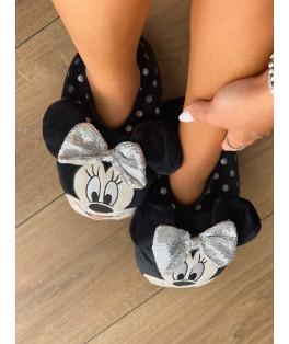 נעלי בית פוף מיני מאוס נקודות